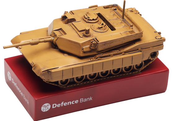 Defence Bank Money Boxes
