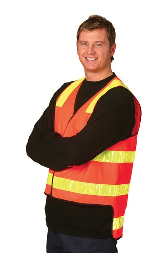 VIC Road Style Safety Vest