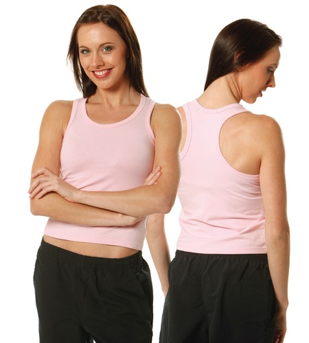 Ladies Fitted Stretch Singlet