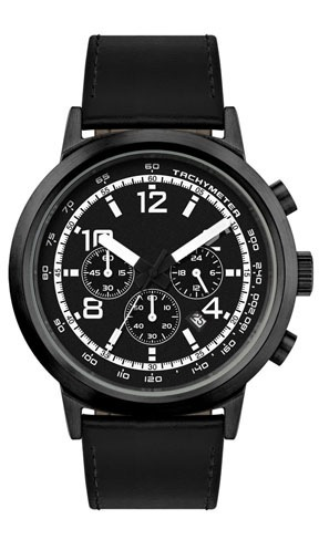 Submarine Black Case Watch