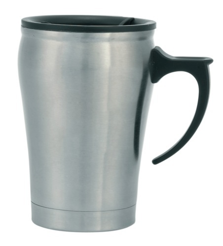 Barossa Stainless Steel Office Mug