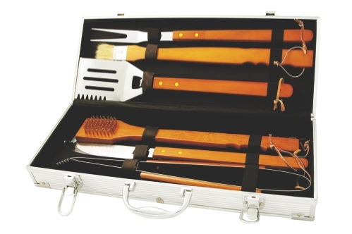 The Master Chef 6pc BBQ Set