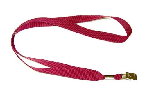 Gemini Plain Polyester Lanyard with Alligator 15mm
