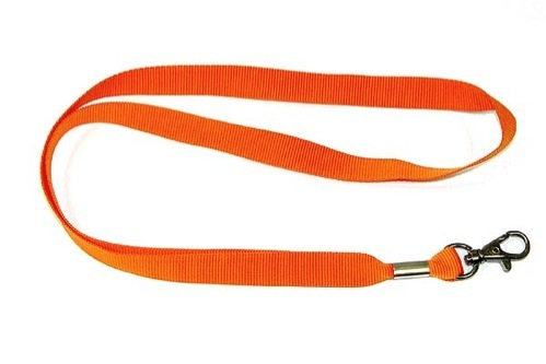 Gemini Plain Polyester with Dog Clip/Carabiner 20mm