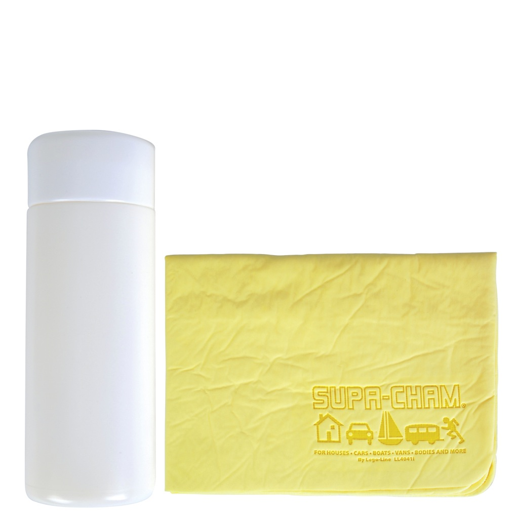 Supa Cham Chamois/body Towel In Tube