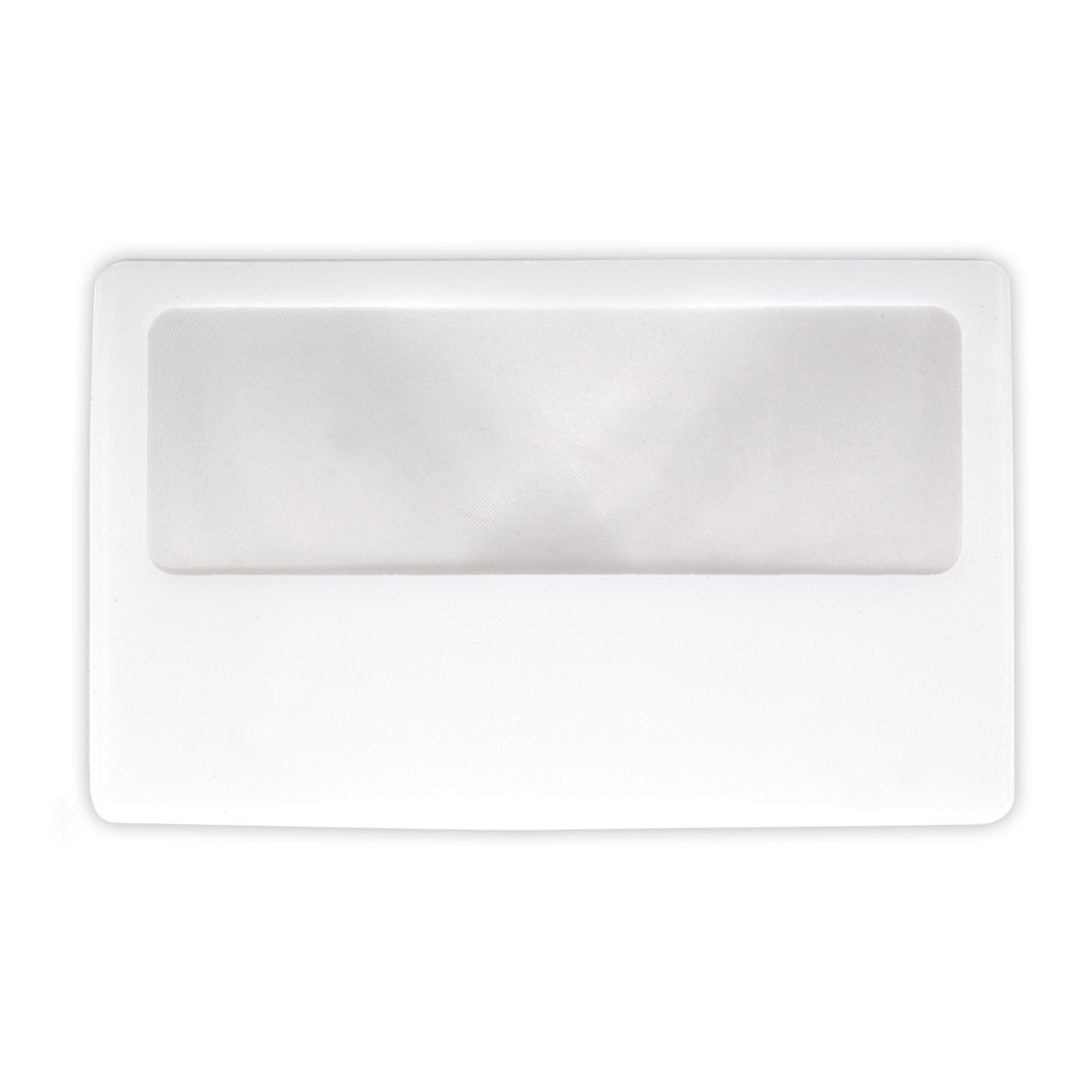Clear Credit Card Size Magnifier