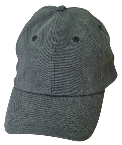 Super heavy brushed cotton unstructured cap