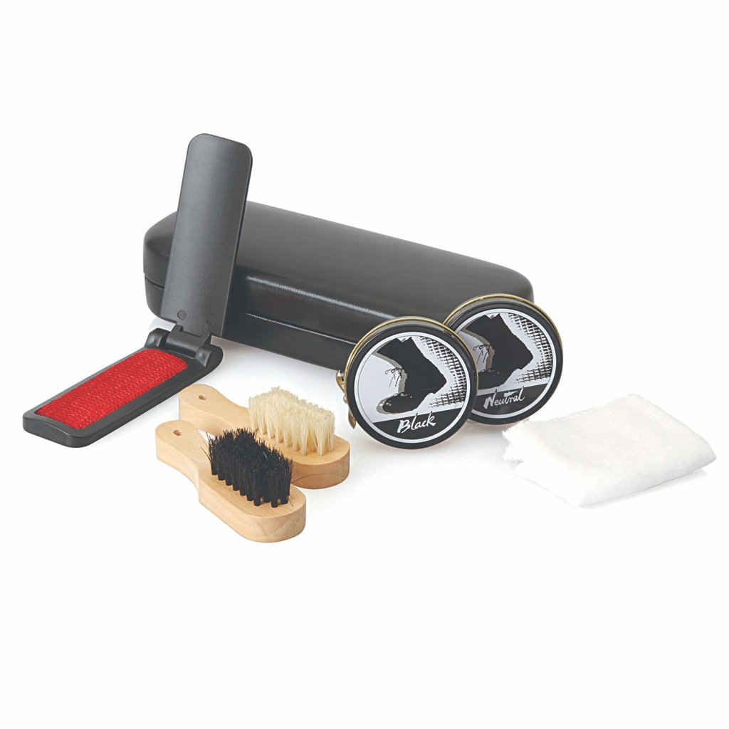 Shoe Shine Travel Set