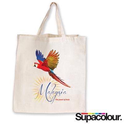 Supa Shopper Short Handle Calico Bag