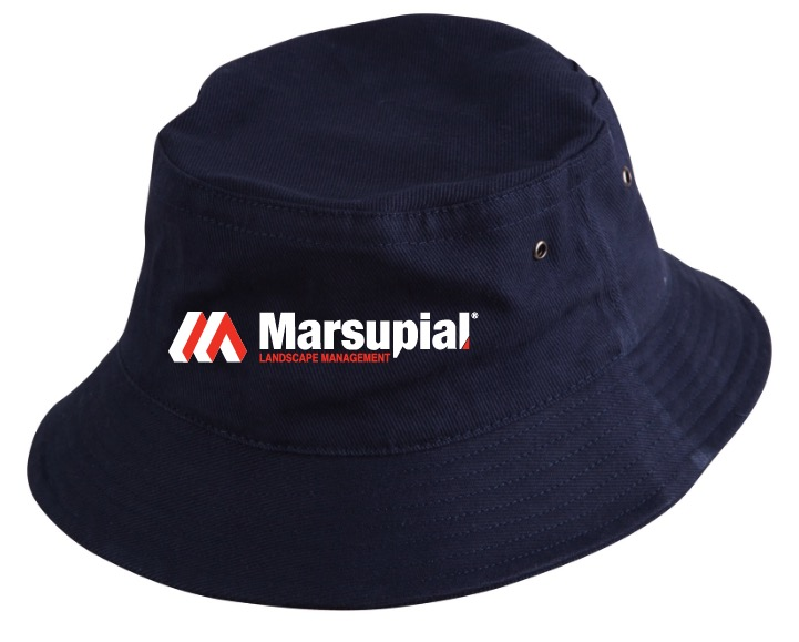 Heavy brushed cotton bucket hat