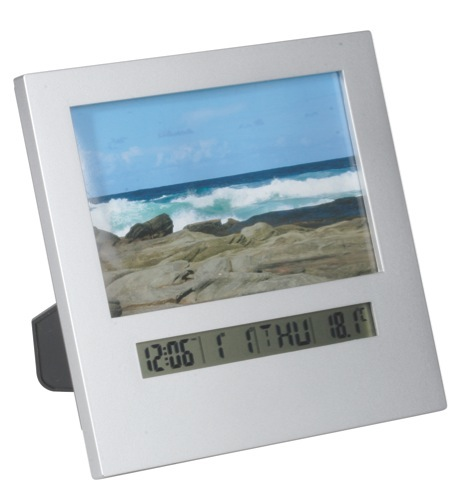 Picture Frame Clock / Temperature