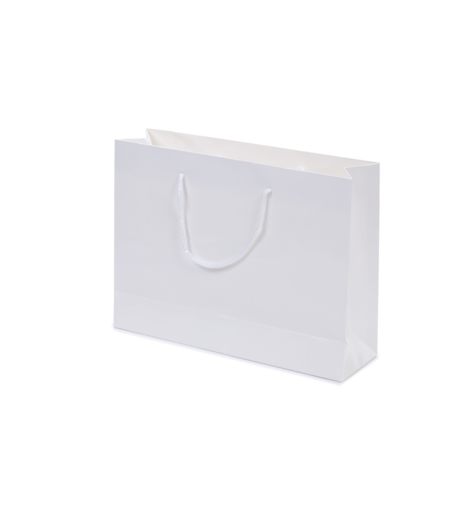 Gloss Laminated Bag A4 With Rope Handle