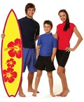 Mens Short Sleeve Surfing Shirt