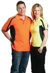 Mens TrueDry Short Sleeve Safety Polo