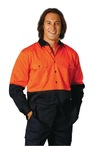 High Visibility Long Sleeve Work Shirts