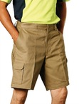 Mens Heavy Cotton Pre-shrunk Drill Shorts