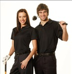 Mens Breathable Bamboo Charcoal Polo