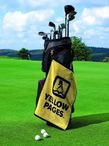 Luxury Woven Golf Towel