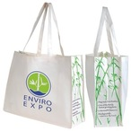 Giant Bamboo Carry Bag With Double Handles - 100 Gsm