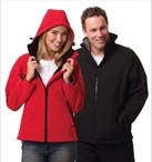 Mens Softshell Hooded Jacket