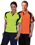 Ladies CoolDry Safety Polo with Underarms mesh