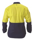 Insect Protection 2 Tone Cool Light Weight Drill Shirt