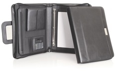 C134 Micro-fibre Compendium with Retractable Handles1
