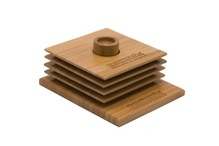Bamboo Coaster Set (engraved on base/1 position)