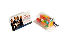 Biz Card Treat with Jelly Beans 25G (Corporate Colours)
