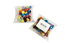 Choc Beans in Pillow Pack 50G (Mixed Colours)