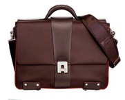 Large Briefcase Brown