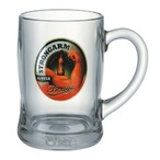 Twin Benidorm Beer Mugs Black