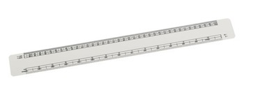 Oval Scale Ruler 30cm