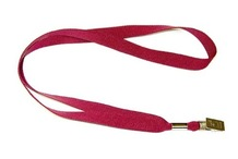 Gemini Plain Polyester Lanyard with Alligator 20mm