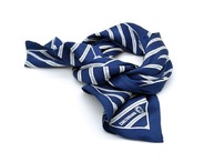 Screen Printed Silk Scarves - Square