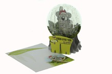 Pop up direct mail card