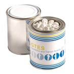 Paint Tin Filled with Mints 225G