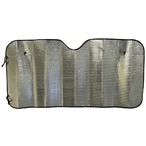 Concertina Metallic Car Sun Shade