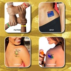 Prism Foil Temporary Tattoos