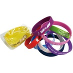 Standard 12mm Silicon Wristbands