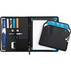 Zoom 2-In-1 Tech Sleeve Zip Padfolio