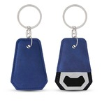 Leatherette Bottle Opener Key Ring