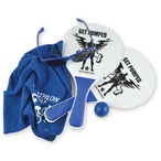 Summer Beach Kit 1 - Bat & Ball Set, Chill Cooling Towel, Horizon Sunglasses