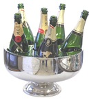 Stainless Steel Glace Champagne Bucket