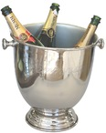 Shiny Nickle Champagne Bucket