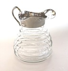Beehive Glass Water Pitcher