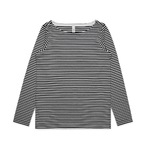 Womens Bowery Stripe Long Sleeve Tee