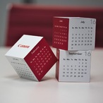 Magnetic 360 Square Calendar
