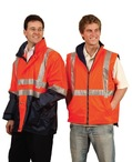 High Visibility Two Tone Vest With 3M Reflective Tapes