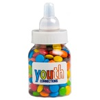 Baby Bottle Filled with Mini M&Ms 45G